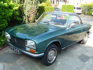 RHD 1971 Peugeot 304 Cabriolet Green with Hardtop SOLD