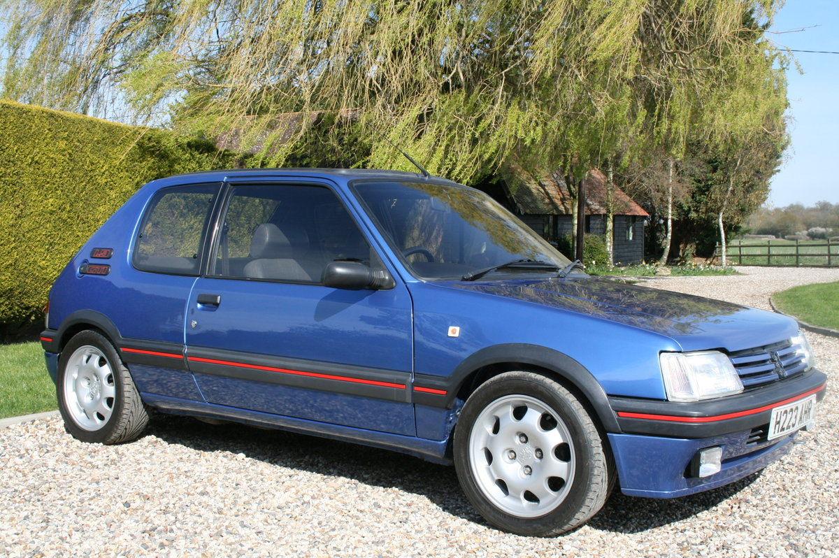 1991 Peugeot 205 GTi Mi16.. The ulimate GTi .  For Sale (picture 1 of 6)