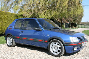 1991 Peugeot 205 GTi Mi16.. The ulimate GTi .  For Sale