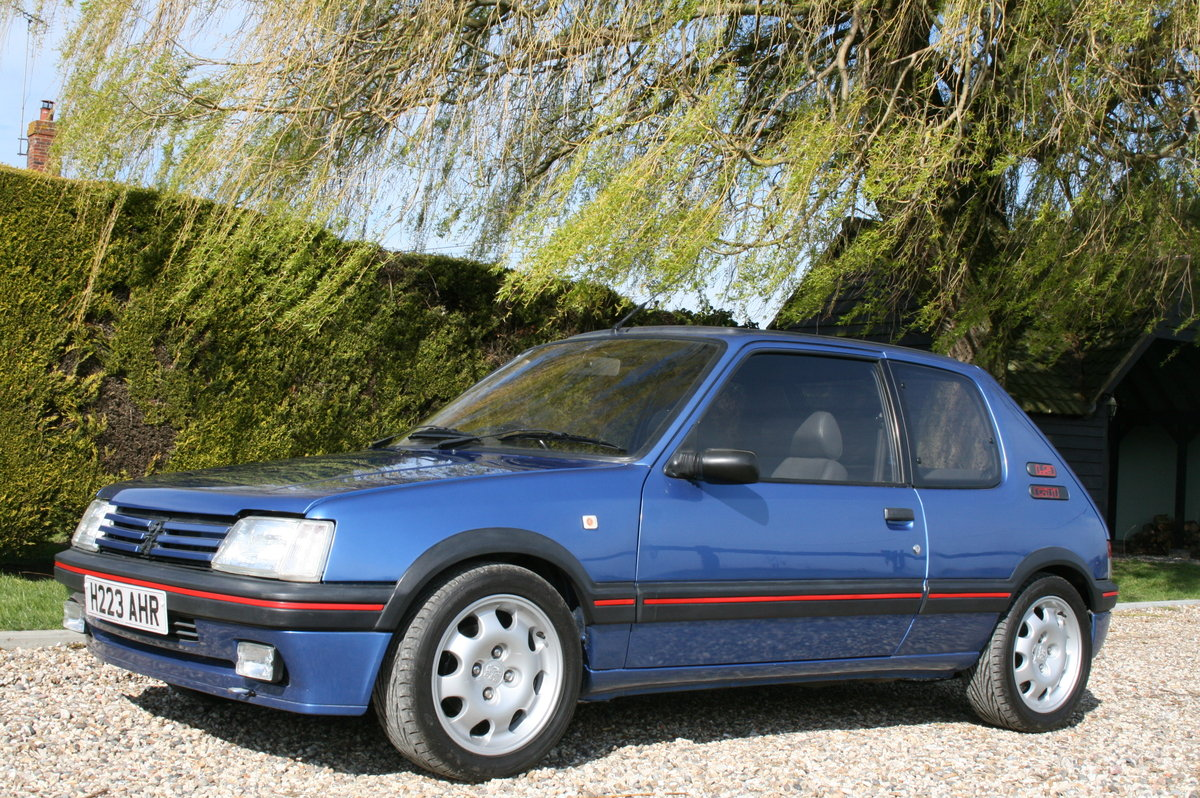 1991 Peugeot 205 GTi Mi16.. The ulimate GTi .  For Sale (picture 4 of 6)