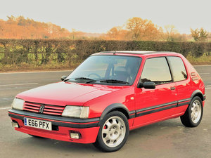 Peugeot 205 1.9 GTi 3dr, 1988 (E reg), Hatchback For Sale