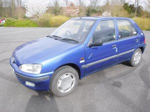 **APRIL AUCTION**1997 Peugeot 106 SOLD by Auction