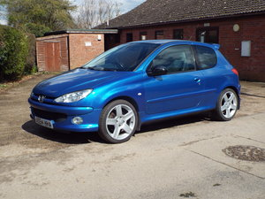 Peugeot 206 GTi 180 2004 54 plate,  76k miles only For Sale