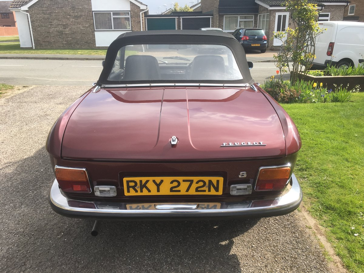 1974 Rare Peugeot 304S Cabriolet SOLD (picture 5 of 6)