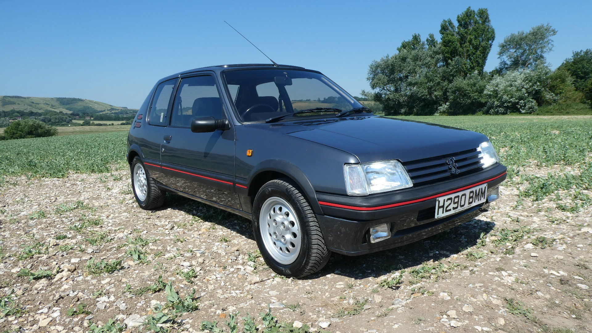 1991 Peugeot 205 1.6 GTI with just 65k miles  SOLD (picture 1 of 6)