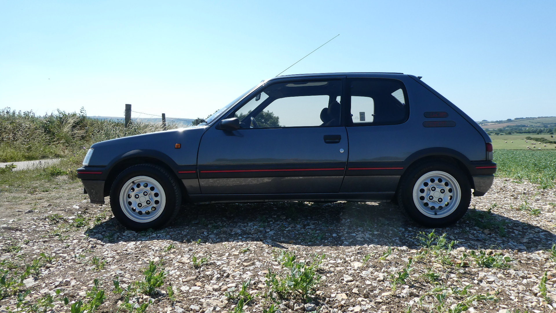 1991 Peugeot 205 1.6 GTI with just 65k miles  SOLD (picture 2 of 6)