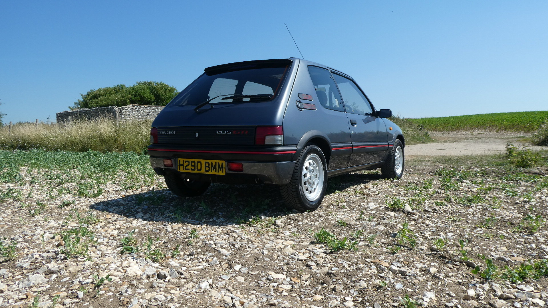 1991 Peugeot 205 1.6 GTI with just 65k miles  SOLD (picture 3 of 6)