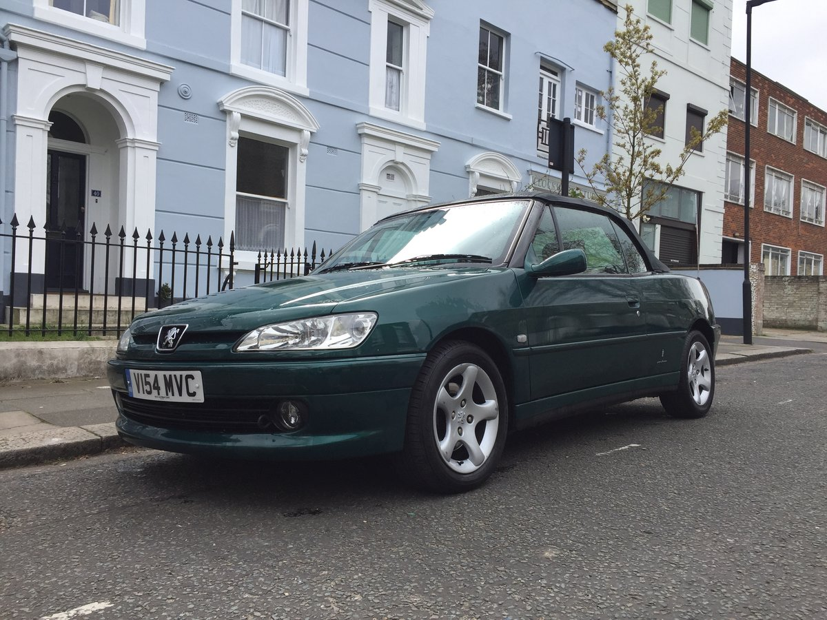 2000 Peugeot 306 GTi 2.0 Cabriolet For Sale (picture 1 of 6)