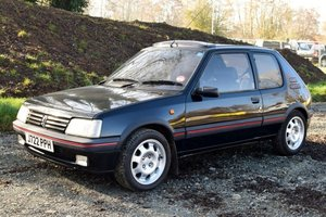 1992 Peugeot 205 GTi For Sale by Auction