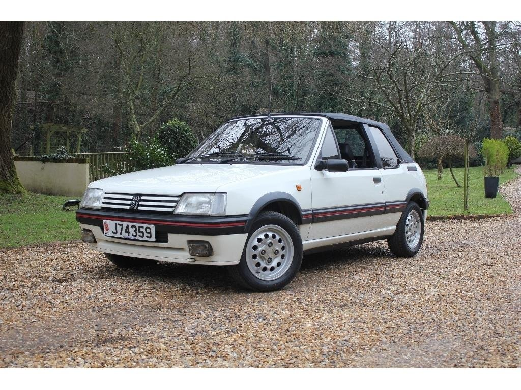 1991 Peugeot 205 1.9 CTi 2dr ULTRA RARE LOW MILES EXAMPLE For Sale (picture 1 of 1)