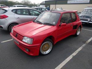 1987 Peugeot 205 GTi 1.9 Dimma For Sale by Auction