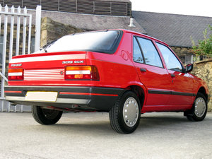 1989 Amazing Peugeot 309GLX - Very Low Mileage - Owned  27 Years  SOLD