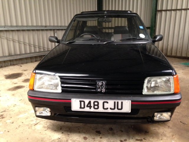 1987 Peugeot 205 1.9 GTI - In need of TLC For Sale (picture 2 of 5)