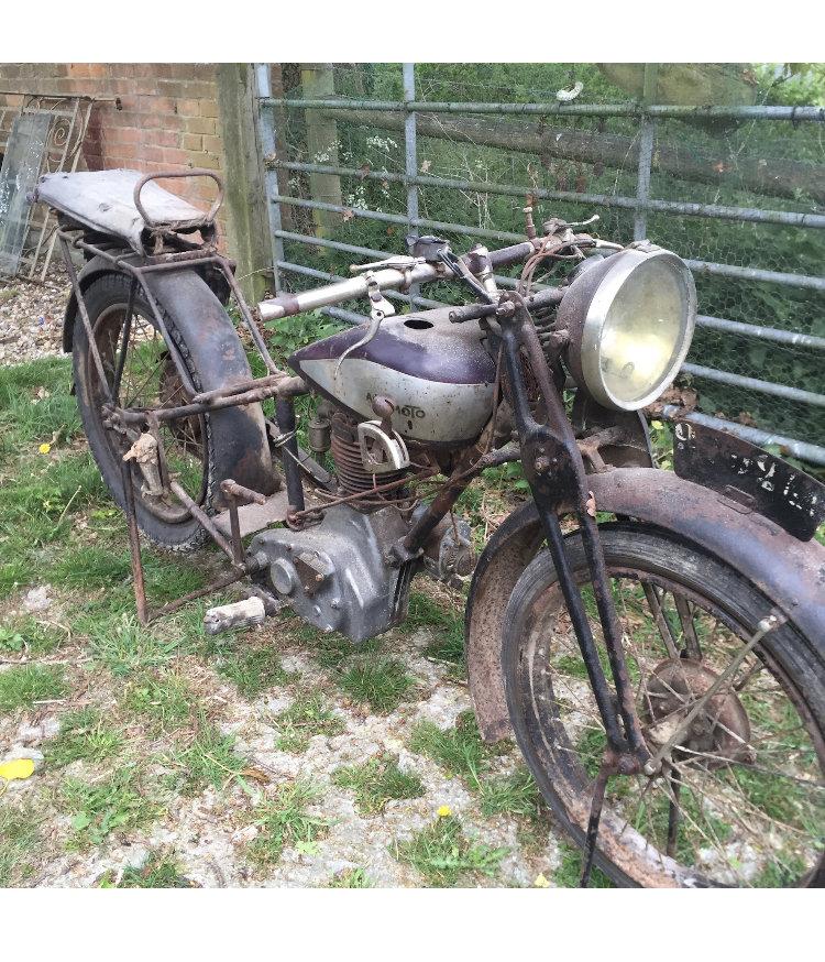 1929 Rare 249 cc model by Auto Moto For Sale (picture 1 of 1)