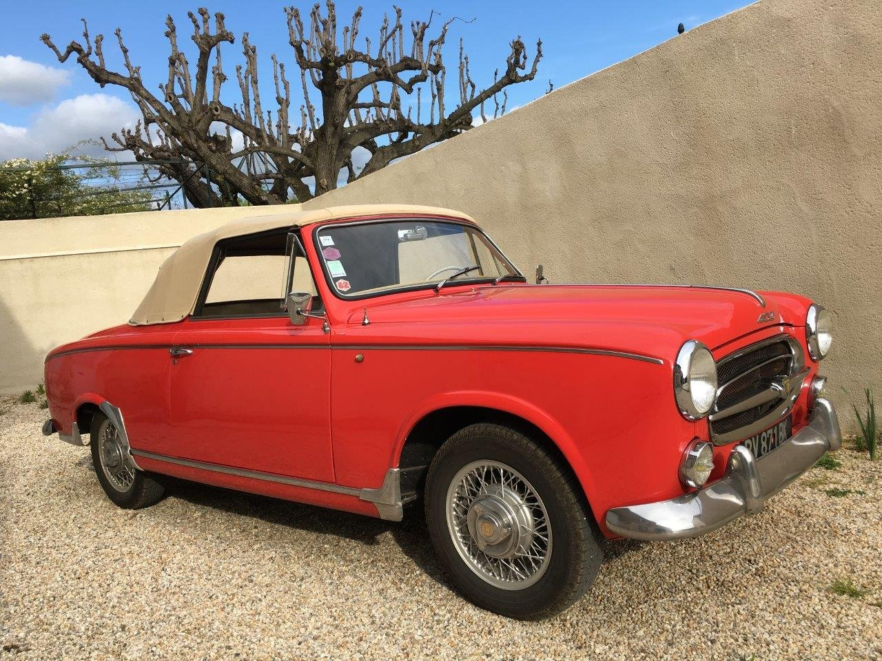 1959 Peugeot 403 Cabriolet For Sale (picture 1 of 6)