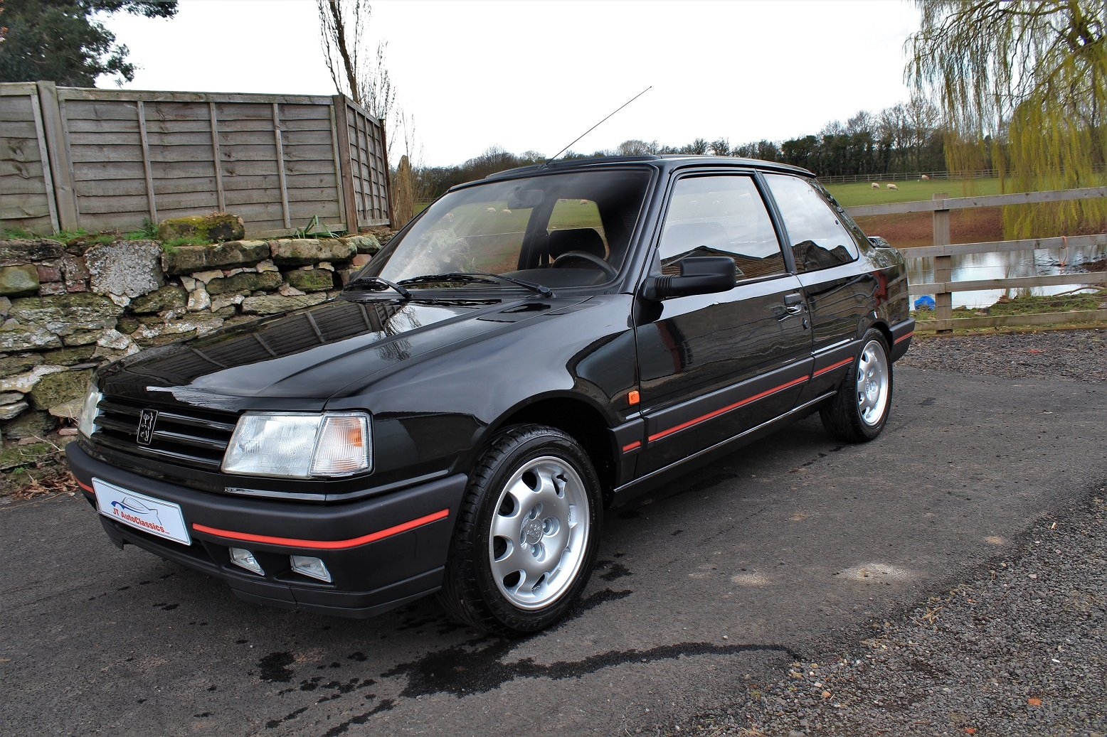 1990 Peugeot 309GTI 3dr LHD,54,903 miles from new For Sale (picture 1 of 6)