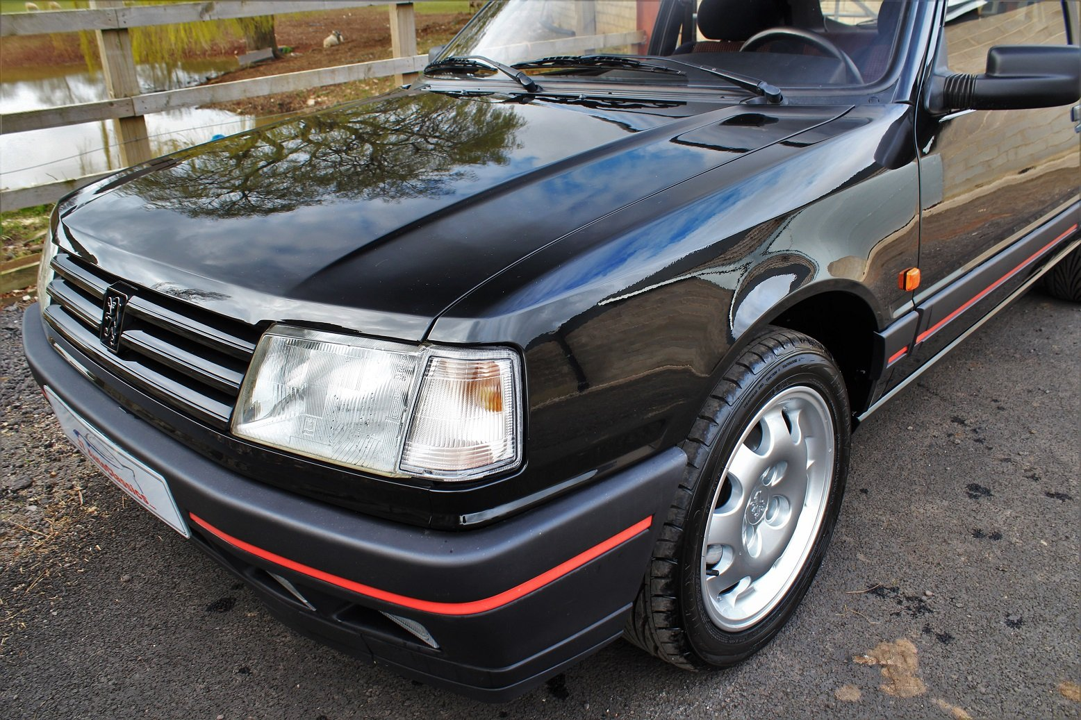 1990 Peugeot 309GTI 3dr,54,903 miles from new For Sale (picture 3 of 6)