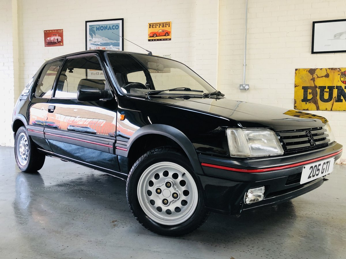 1995 PEUGEOT 205 GTI 1.6 - 2 OWNERS, RESTORED CAR, STUNNING SOLD (picture 1 of 6)