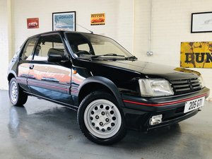 1995 PEUGEOT 205 GTI 1.6 - 2 OWNERS, RESTORED CAR, STUNNING For Sale