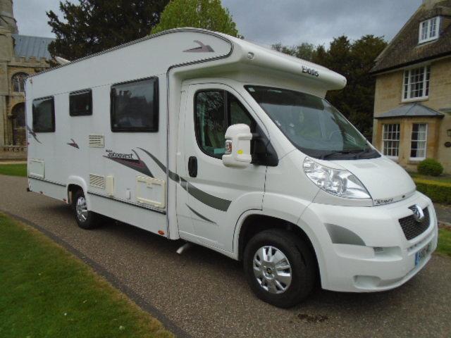 2010 Peugeot Boxer Camper van. Elddis Autoquest 155 4 birth For Sale (picture 1 of 6)