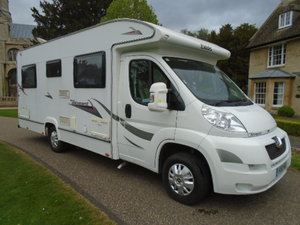 2010 Peugeot Boxer Camper van. Elddis Autoquest 155 4 birth For Sale