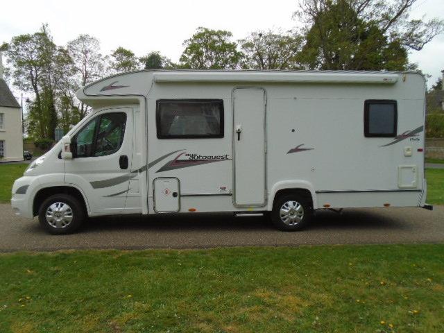 2010 Peugeot Boxer Camper van. Elddis Autoquest 155 4 birth For Sale (picture 2 of 6)