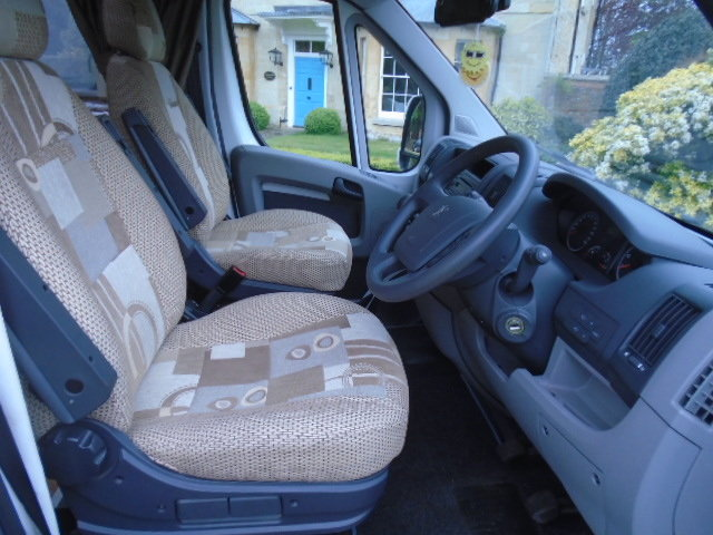 2010 Peugeot Boxer Camper van. Elddis Autoquest 155 4 birth For Sale (picture 3 of 6)