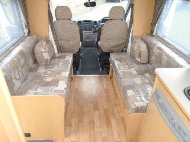 2010 Peugeot Boxer Camper van. Elddis Autoquest 155 4 birth For Sale (picture 4 of 6)