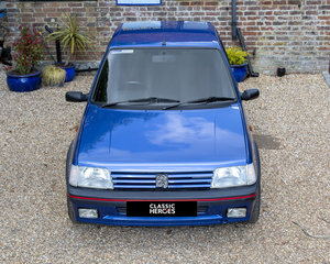 One Owner, 16,700 Miles, Miami blue, Peugeot 205 GTI, 1.6.  For Sale