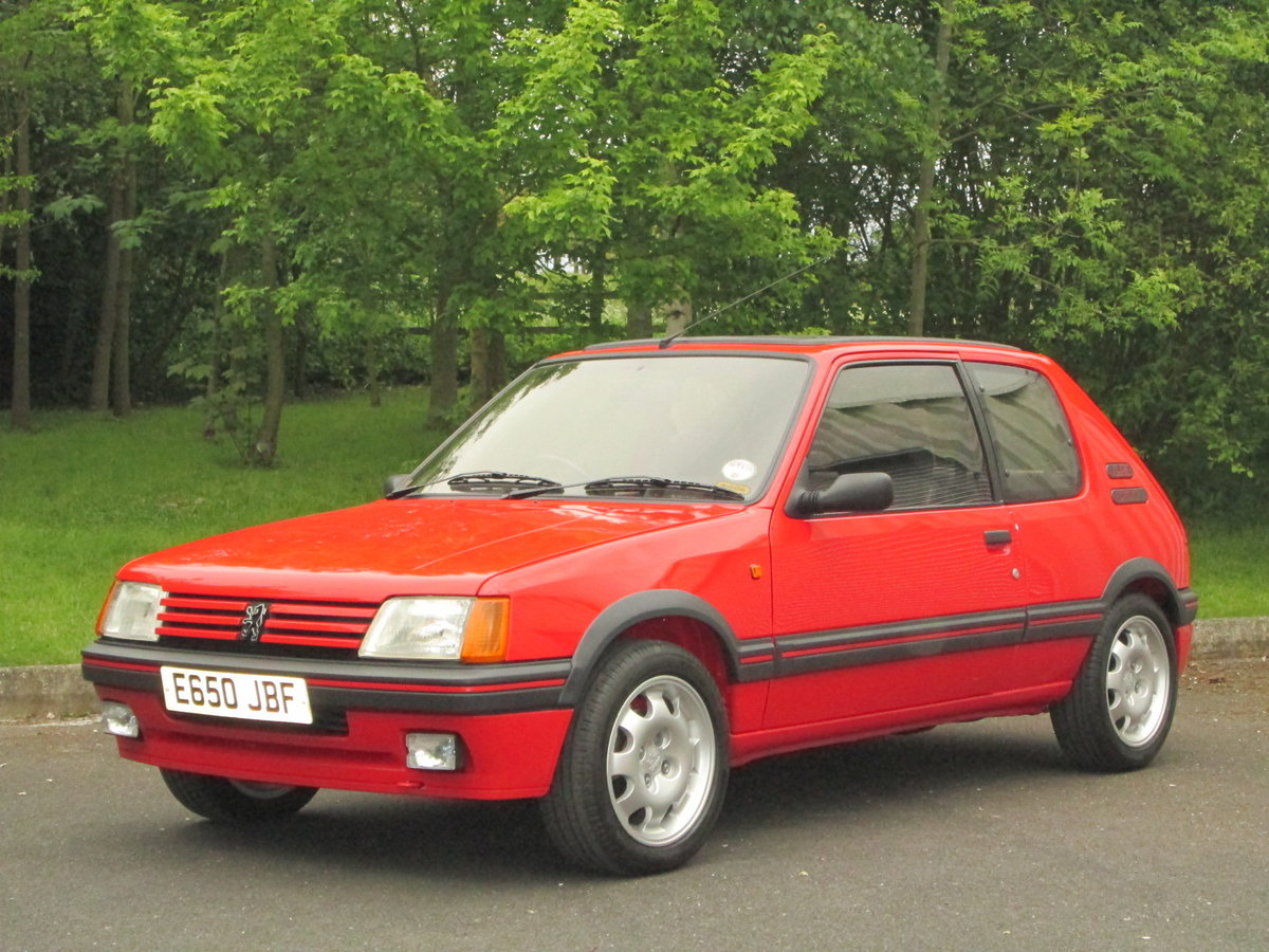 1987 PEUGEOT 205 1.9 GTi For Sale (picture 1 of 6)