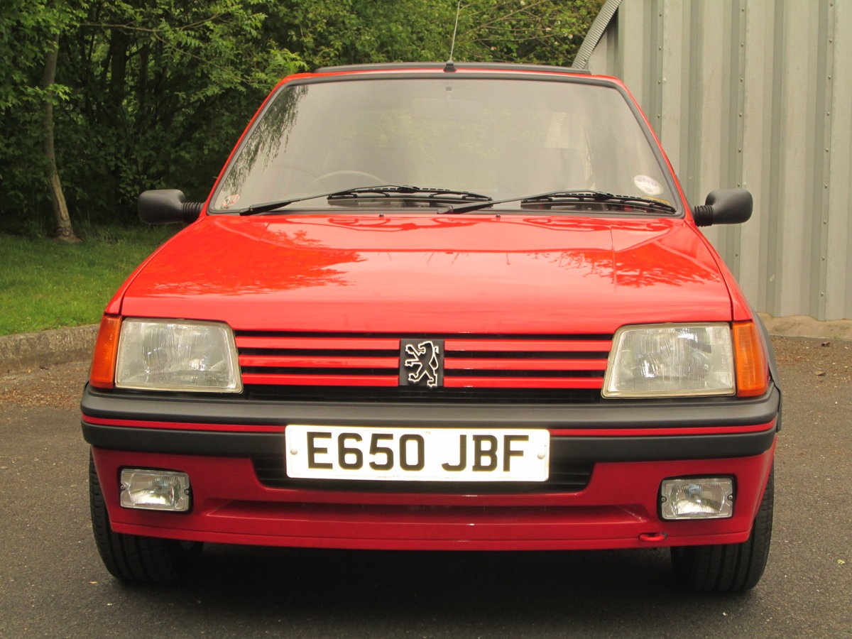 1987 PEUGEOT 205 1.9 GTi For Sale (picture 2 of 6)