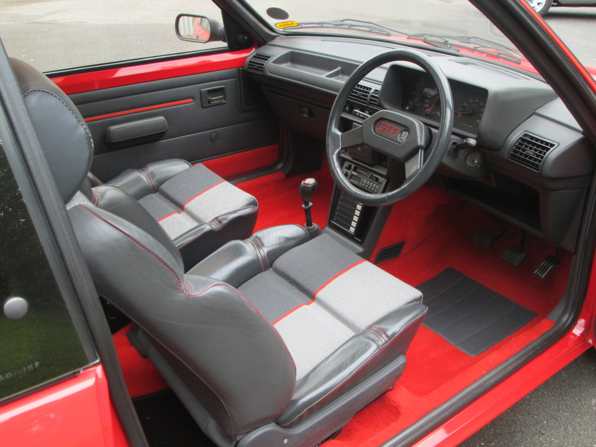 1987 PEUGEOT 205 1.9 GTi For Sale (picture 3 of 6)