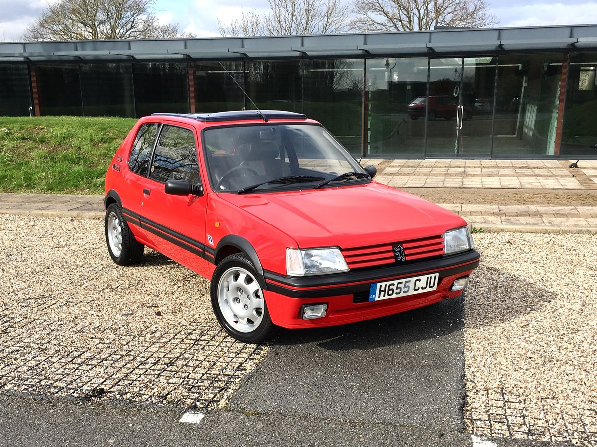 1990 Peugeot 205 GTi Mi16 For Sale (picture 1 of 6)