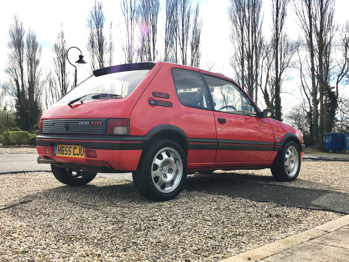 1990 Peugeot 205 GTi Mi16 For Sale (picture 4 of 6)