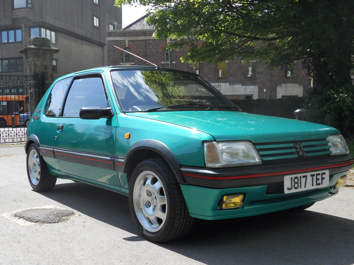 1991 Peugeot 205 1.9 GTI For Sale (picture 1 of 6)