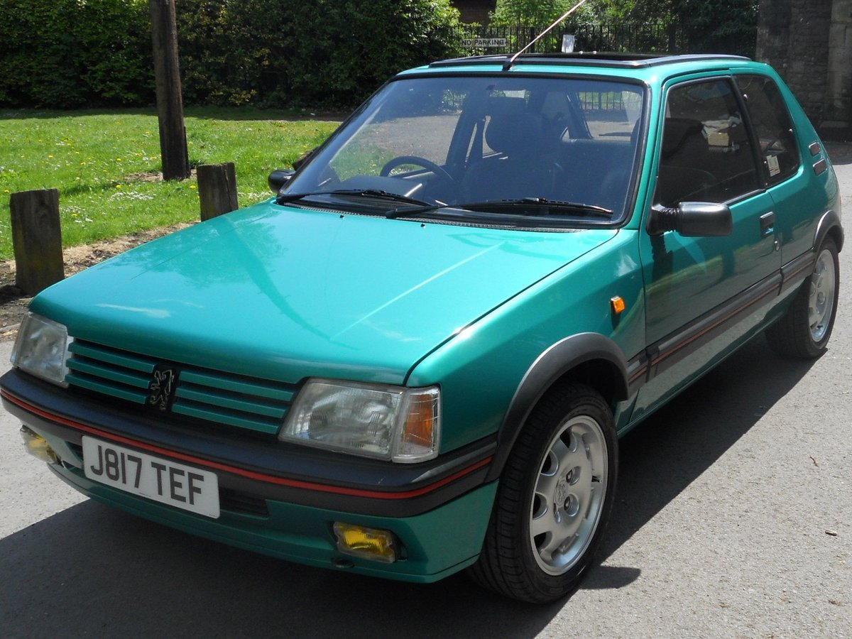 1991 Peugeot 205 1.9 GTI For Sale (picture 2 of 6)