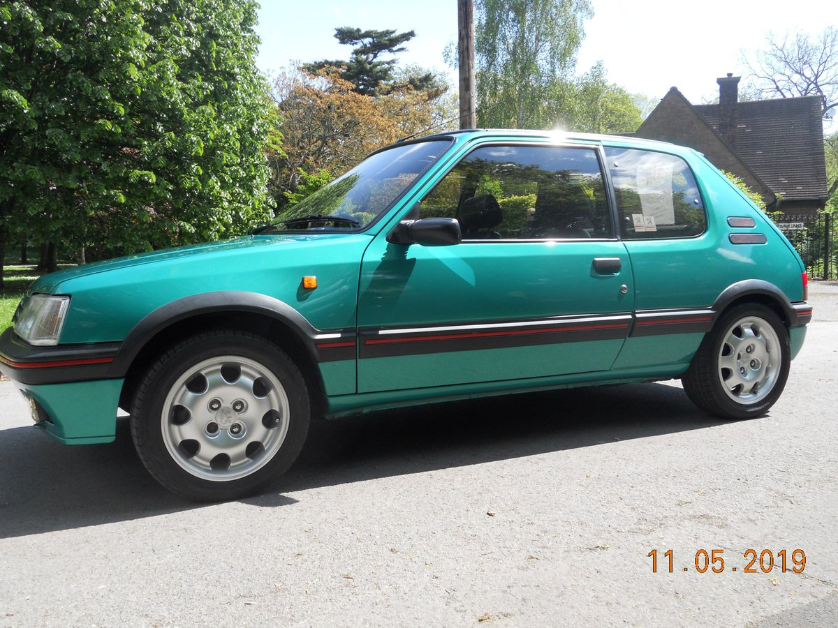 1991 Peugeot 205 1.9 GTI For Sale (picture 4 of 6)
