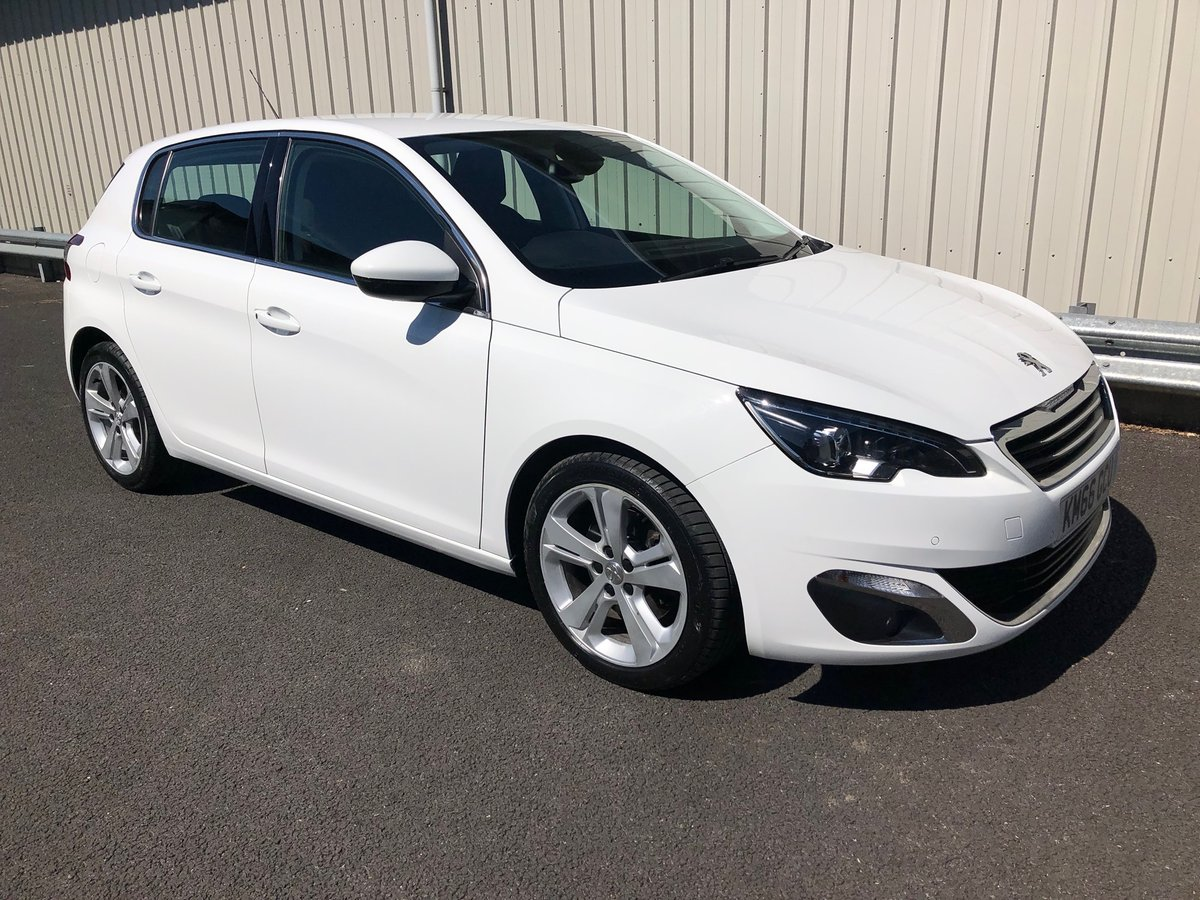 2016 PEUGEOT 308 2.0 BLUE HDI S/S ALLURE 5D AUTO 150 BHP SOLD (picture 1 of 6)