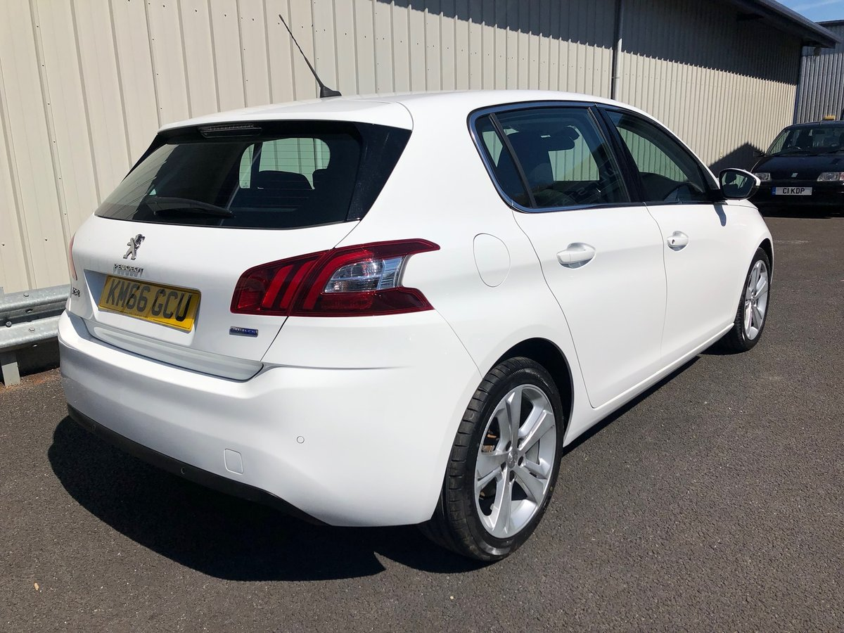 2016 PEUGEOT 308 2.0 BLUE HDI S/S ALLURE 5D AUTO 150 BHP SOLD (picture 2 of 6)