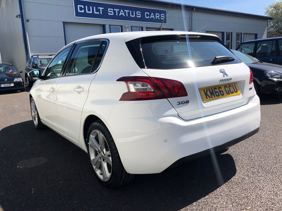 2016 PEUGEOT 308 2.0 BLUE HDI S/S ALLURE 5D AUTO 150 BHP SOLD (picture 3 of 6)