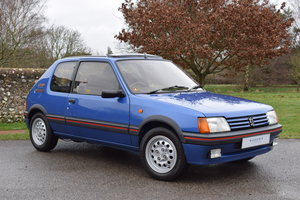 1990 90/H Peugeot 205 GTi 1.6 - one private owner, ltd edition For Sale