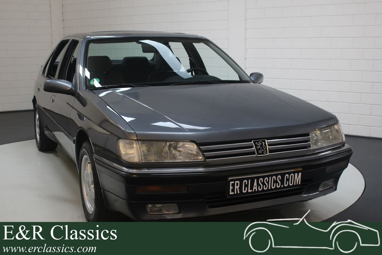 Peugeot 605 SR 3.0 V6 1990 Near mint condition For Sale (picture 1 of 6)