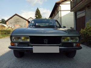 1975 LHD-Peugeot 504 Coupe V6- 49.000km. by Pininfarina For Sale