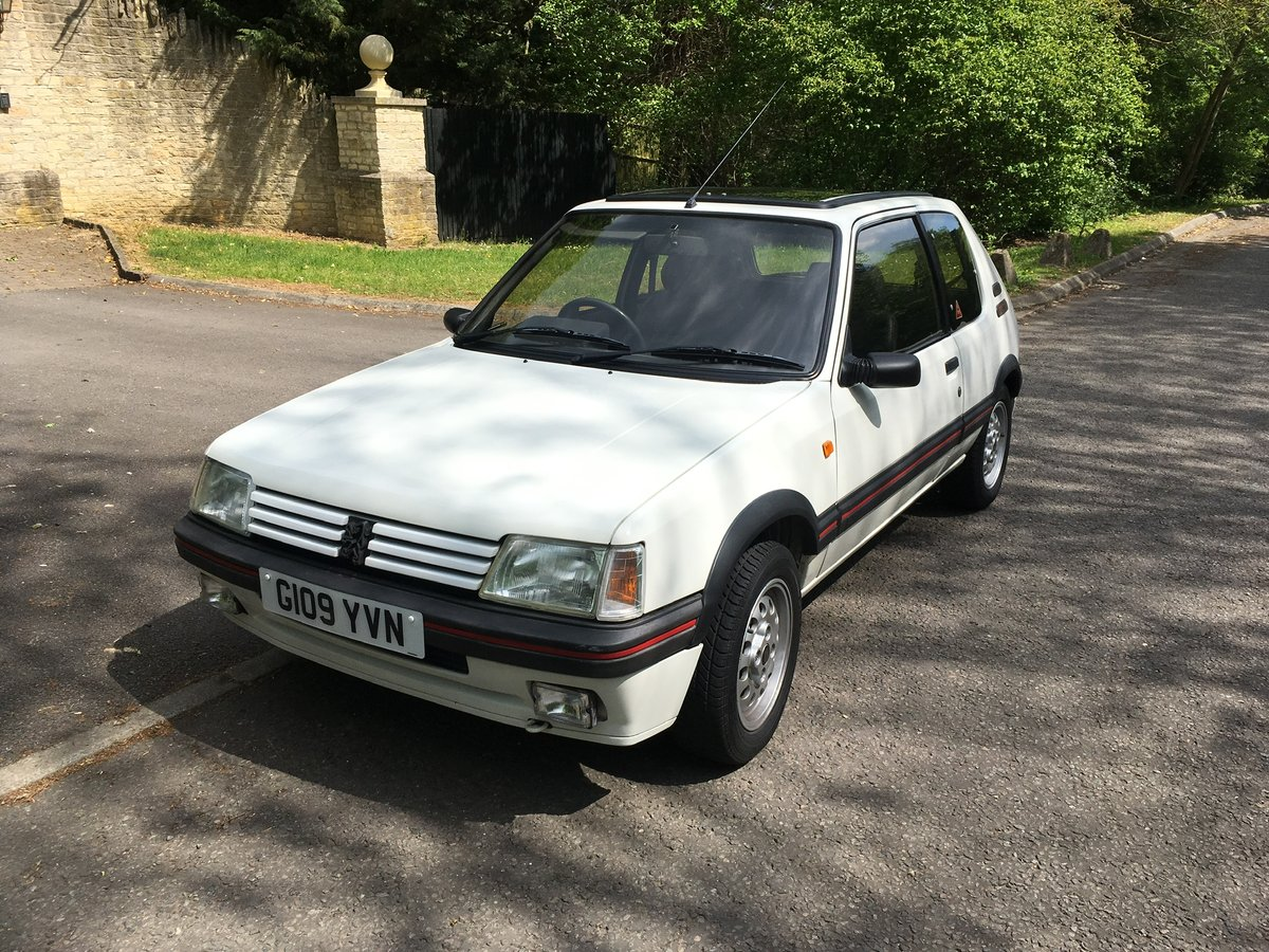 For Sale Peugeot 205GTi 1989 For Sale (picture 1 of 6)