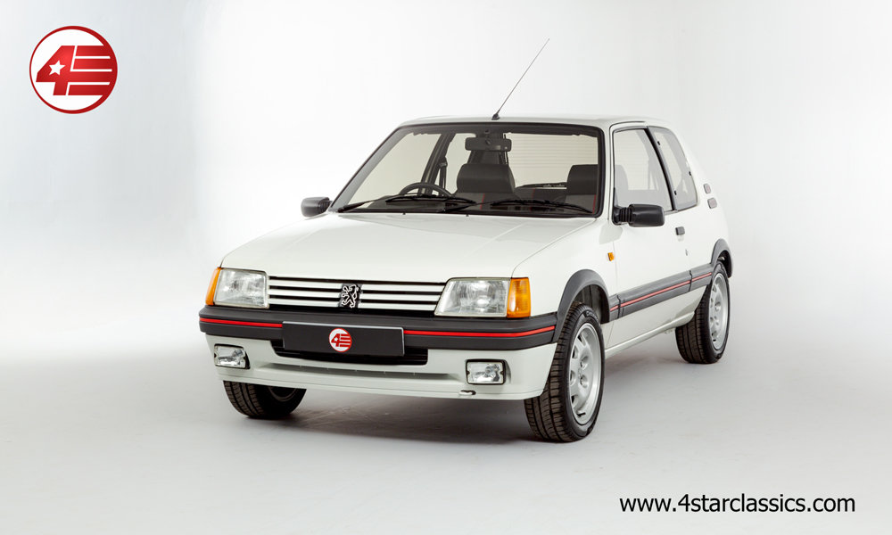 1988 Peugeot 205 GTI 1.9 /// Just 5,783 Miles From New! For Sale (picture 1 of 6)