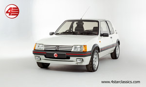 1988 Peugeot 205 GTI 1.9 /// Just 5,783 Miles From New! For Sale