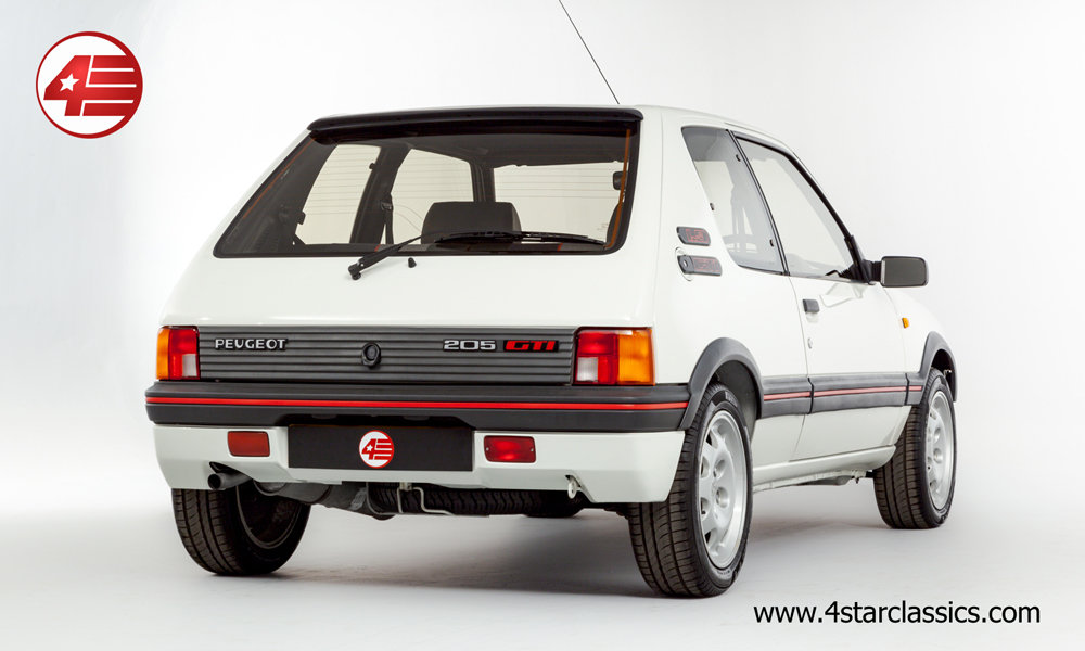 1988 Peugeot 205 GTI 1.9 /// Just 5,783 Miles From New! For Sale (picture 3 of 6)