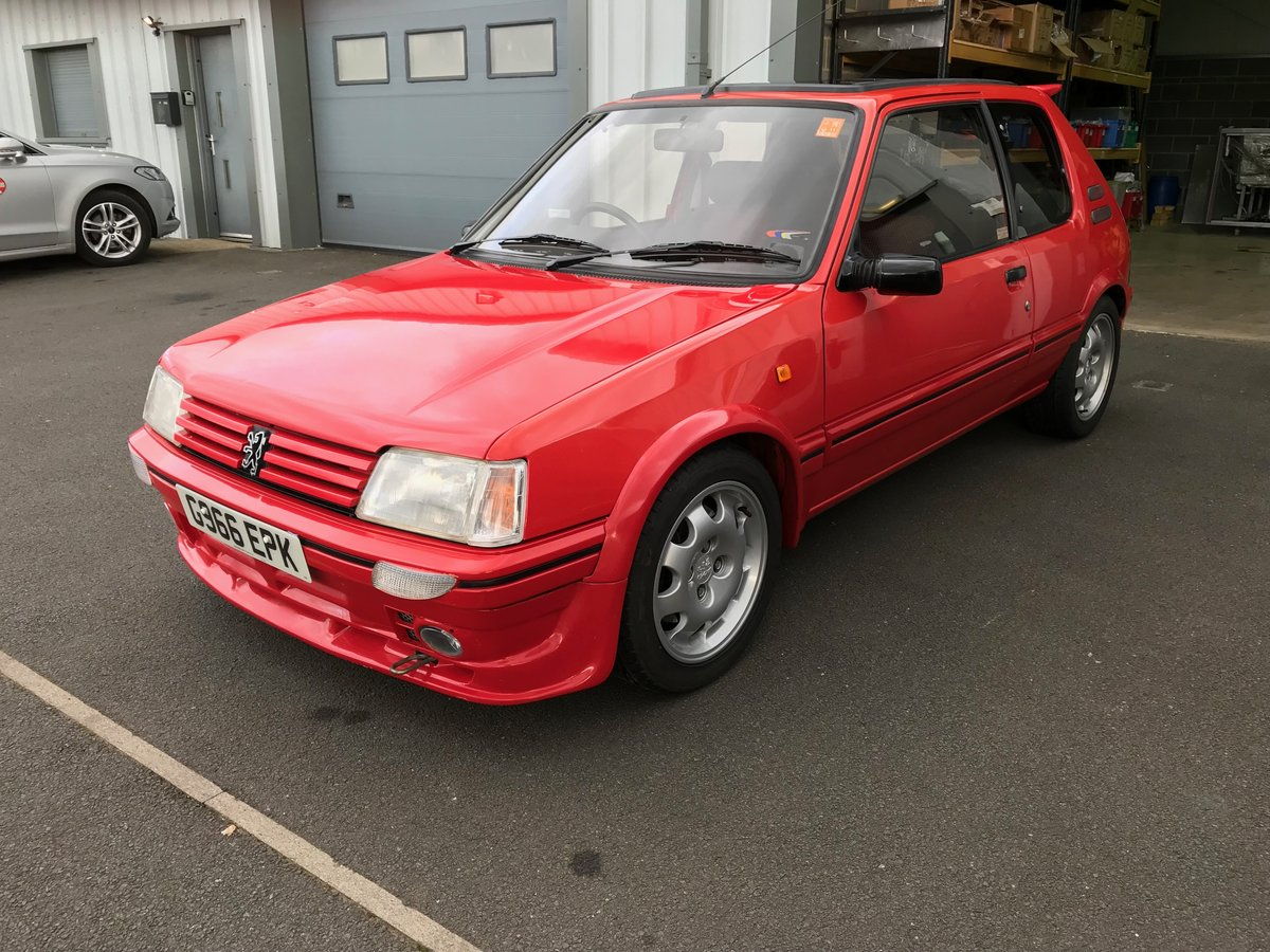 1990 205 Gti 1.9 Mi16 220 BHP For Sale (picture 1 of 6)