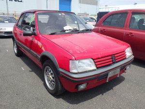 1995 PEUGEOT 205 CTI 1.9 CABRIOLET AUTOMATIC RARE COLLECTOR CAR