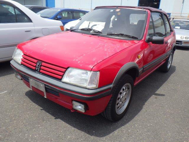1995 PEUGEOT 205 CTI 1.9 CABRIOLET AUTOMATIC RARE COLLECTOR CAR For Sale (picture 2 of 6)